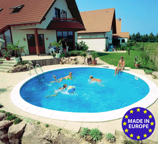 Piscina interrata rio 4 00 h 1 20 m a prezzo scontato - Impianto filtrazione piscina prezzo ...