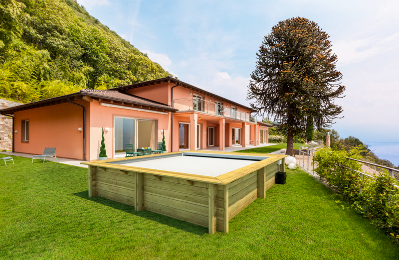 Piscina in legno NaturalWood URBAN