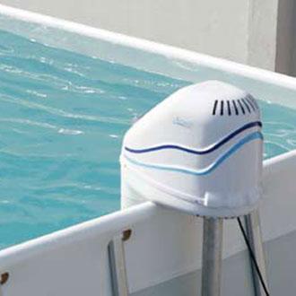 Nuoto controcorrente azuro jet 50 per piscine fuoriterra e - Filtri per piscine fuori terra ...