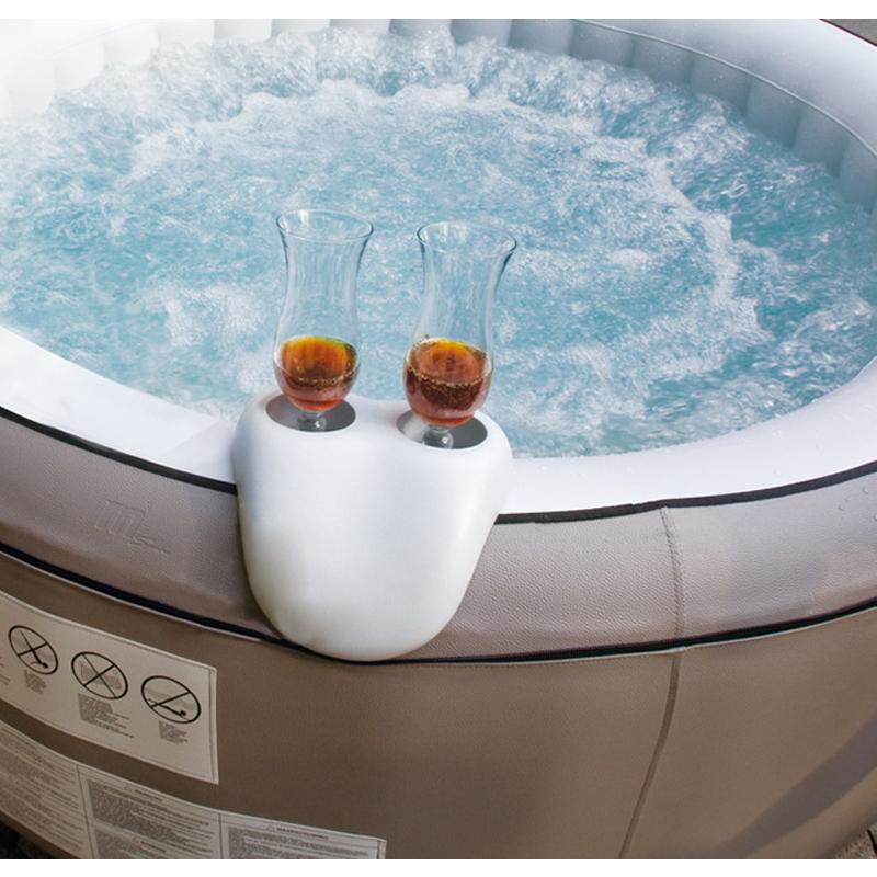 Kit Comfort poggiatesta/portabevande per piscina idromassaggio SPA