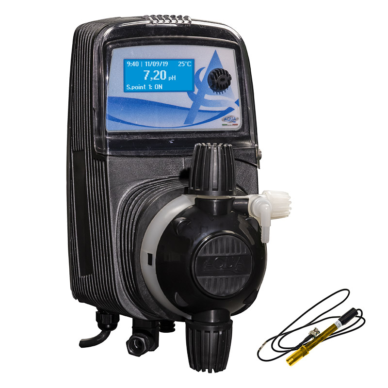 Pompa dosatrice elettromagnetica HC151+ RX con display digitale