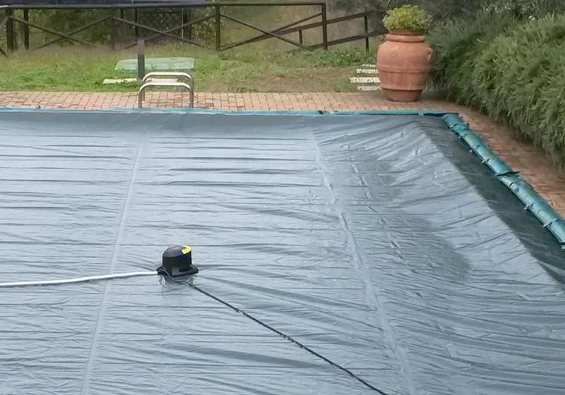 Pompa Sommergibile SVUOTA TELONI piscina