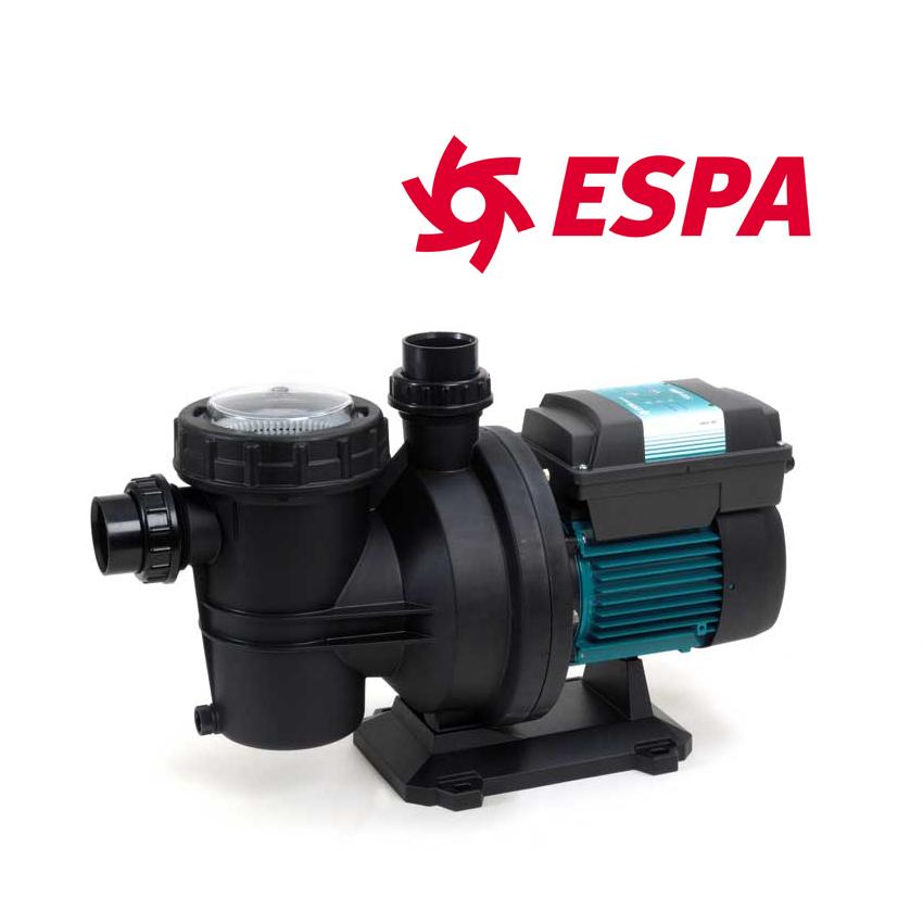 Pompa Piscina per filtrazione Espa SILEN2 50 - 0,75 HP Raccordi 6,90 cm