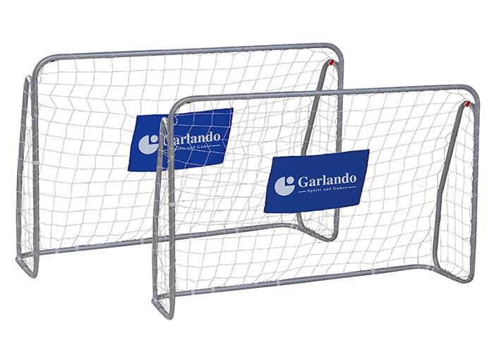 Set 2 porte da calcio Garlando KICK & RUSH 215 x 152 cm