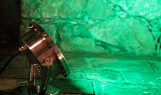 Proiettore a led inox serie mt-4