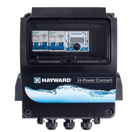 Quadro Elettrico Hayward H-Power Connect con controllo Bluetooth