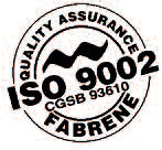 Fabrene ISO 9002 Quality assurance