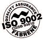 Fabrene ISO 9002 Quality assurance