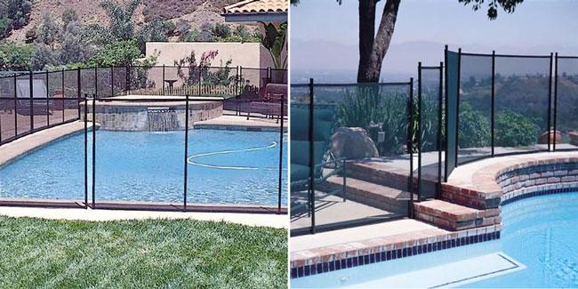 recinzione sicurezza piscine