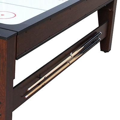Tavolo da biliardo ed air hockey REVERSO, reversibile 2 in 1