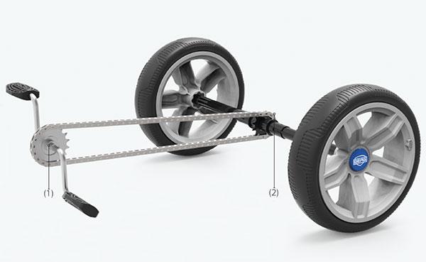 Go kart a pedali REPPY RIDER by Berg Toys