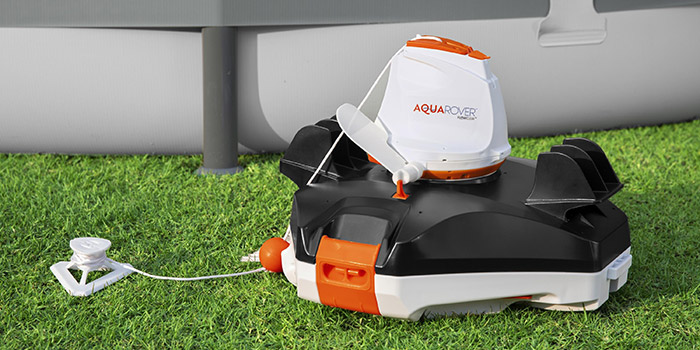 Robot pulitore automatico per piscina a batteria AQUAROVER Flowclear
