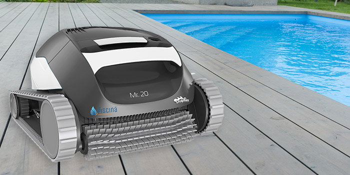 Robot piscina Dolphin Mr. 20 by Maytronics