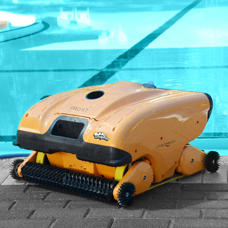 Robot piscina Dolphin PRO X 7 Gyro by Maytronics con telecomando