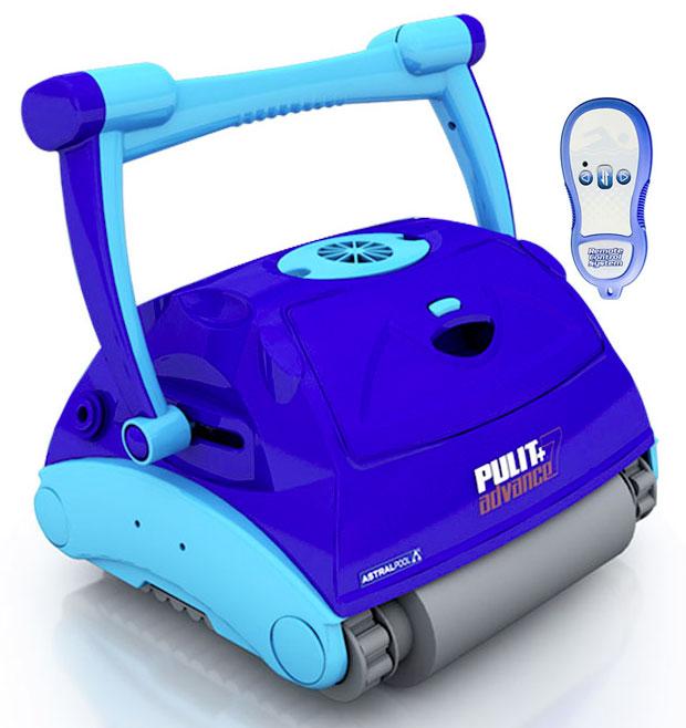 Robot pulitore piscina Pulit Advanced 7 telecomando