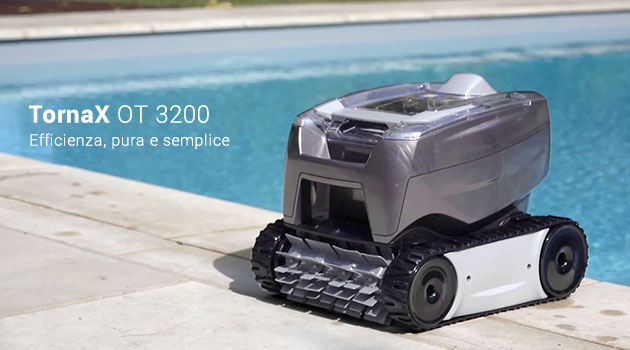 Robot piscina OT 3200 Tornax Zodiac