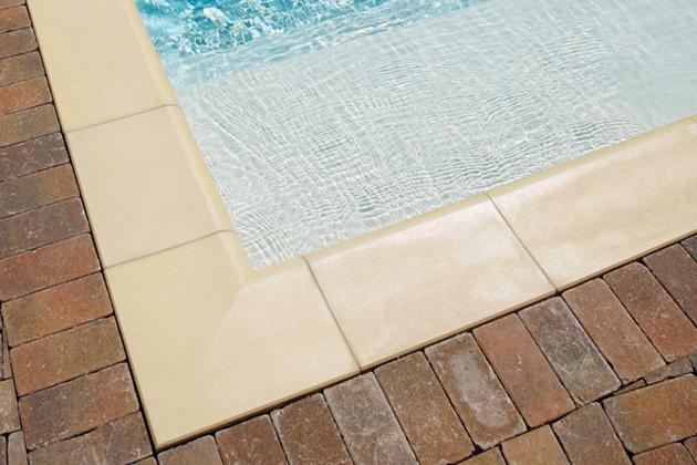 Bordo piscina Roma Autentika giallo sahara