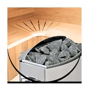 Equipaggiamento Audio per sauna infrarossi