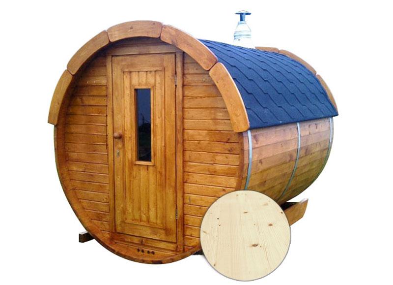 Sauna finlandese tradizionale da esterno Ade 5-7 posti