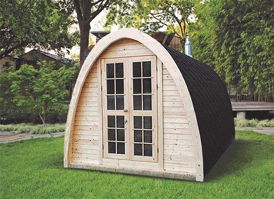 Sauna tradizionale da esterno MODI