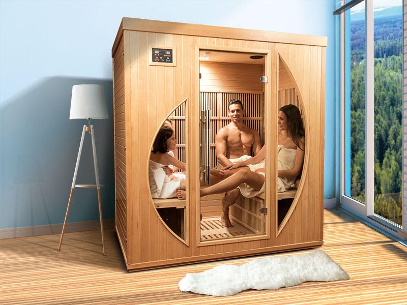 Sauna a raggi infrarossi Rowen