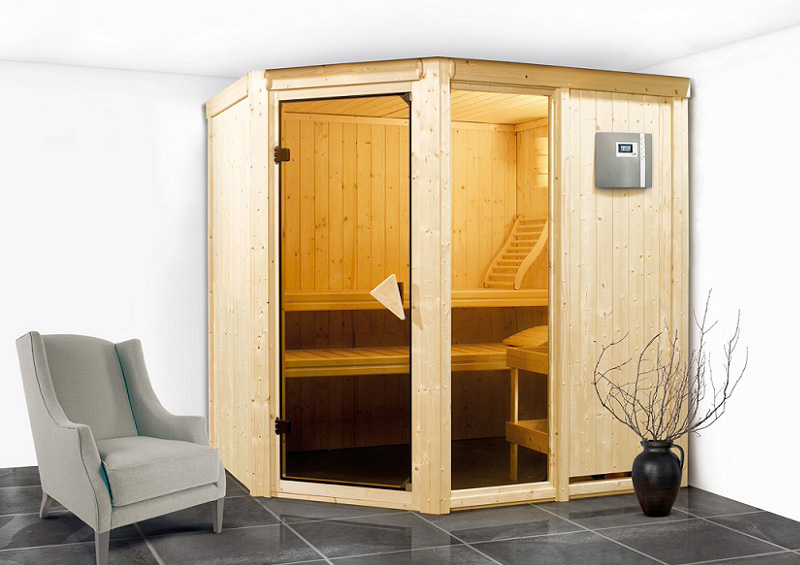 Sauna finlandese tradizionale FIONA1