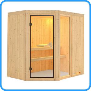 Sauna finlandese tradizionale Fiona1 solo sauna