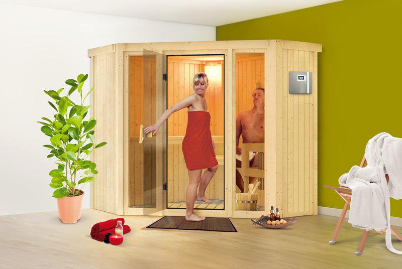 Sauna finlandese tradizionale FLORA1