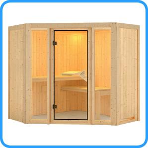 Sauna finlandese tradizionale FLORA1 solo sauna