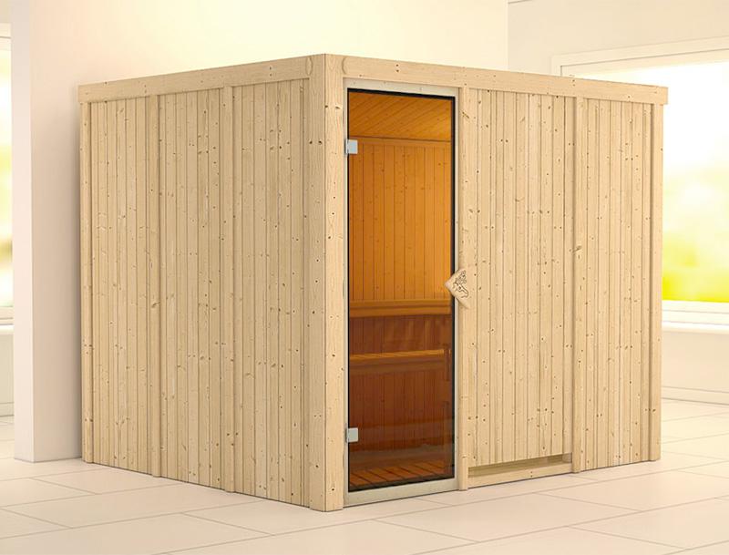 Sauna finlandese tradizionale GOBIN, porta