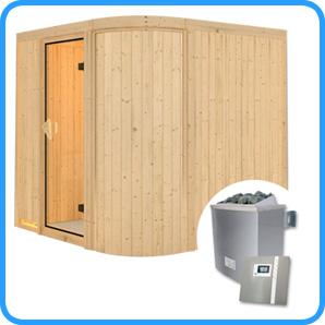 Sauna finlandese tradizionale TITANIA3