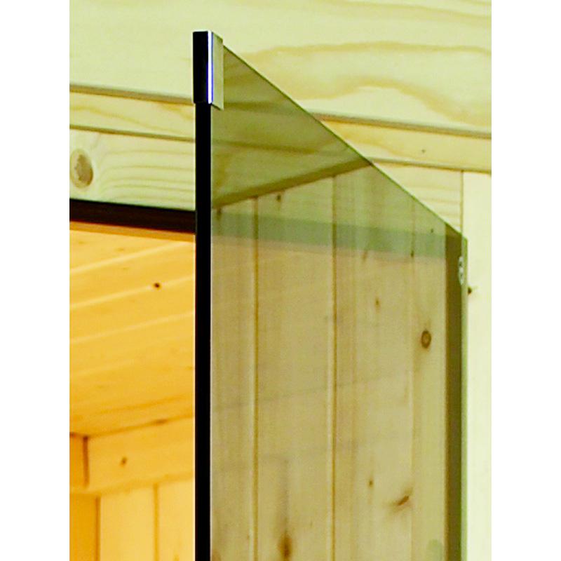 Sauna finlandese tradizionale FLORA1, porta