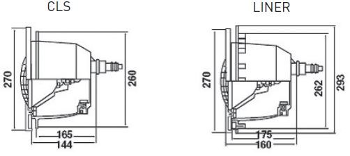 Mini Proiettore Serie MT-4 per Piscina