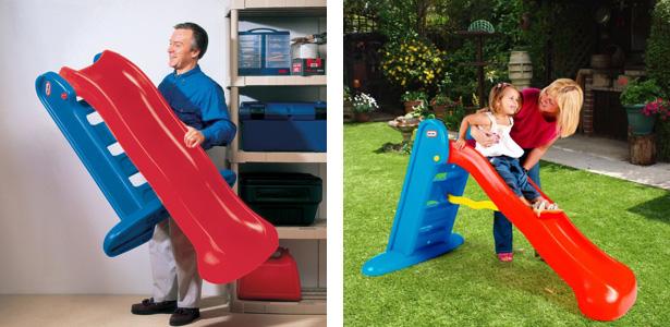 Scivolo pieghevole per bambini 152 cm by Little Tikes
