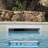Skimmer sfioratore per piscina