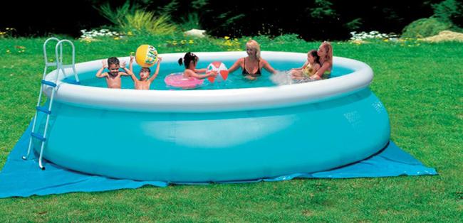piscina fuori terra soft 244