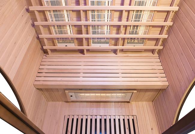sauna MULTIWAVE con tecnologia Dual Healthy