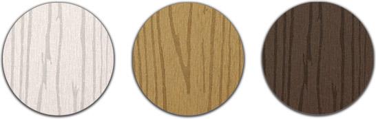 Colori Staccionata in WPC BAMBOO a profilo quadro