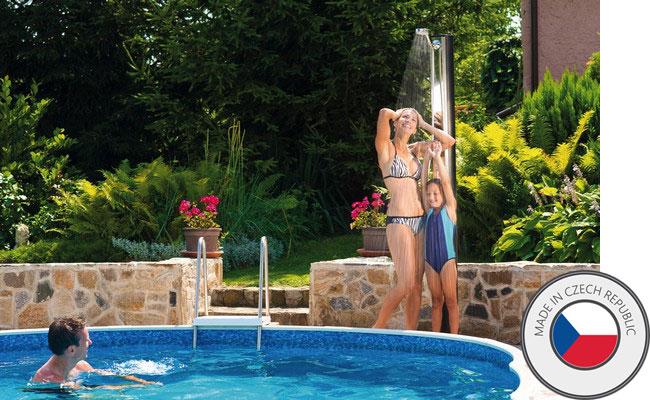 Doccia solare per piscina standard 35 litri in pvc - Doccia solare per piscina ...