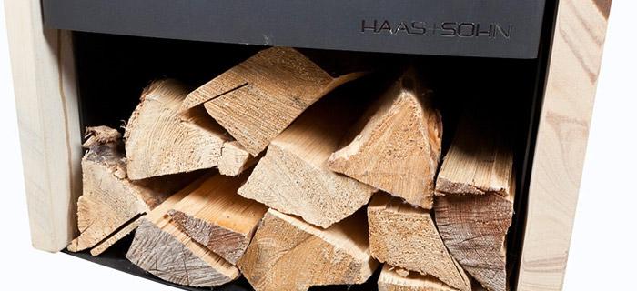 Stufa a legna AZUL da 3 a 6,4 kW