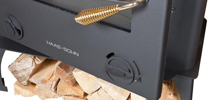 Stufa a legna TRENTINO 11 da 2,3 a 7,1 kW