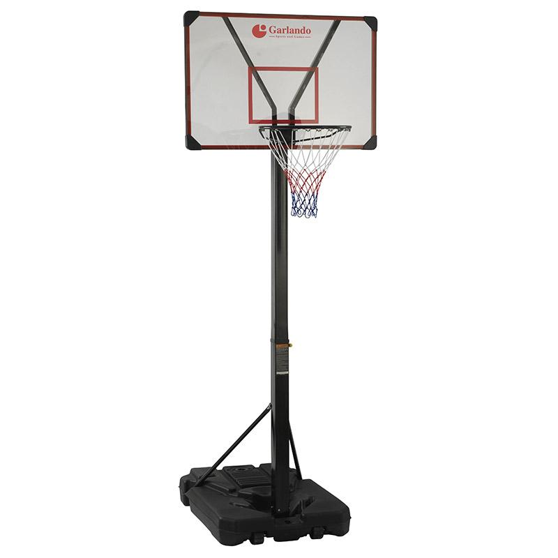 Tabellone da basket regolamentare SAN DIEGO ad altezza regolabile da 225 a 305 cm