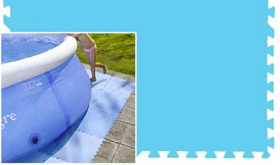 Tappetino di fondo puzzle gre per piscine - Tappeto per piscina fuori terra ...
