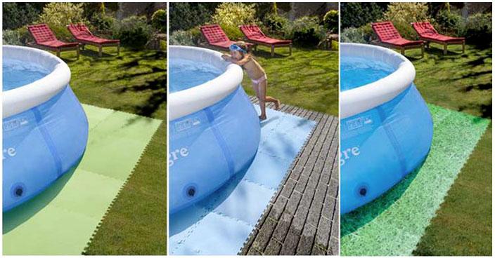 Tappetino di fondo puzzle gre per piscine mrpiscina it - Tappetino per piscina ...