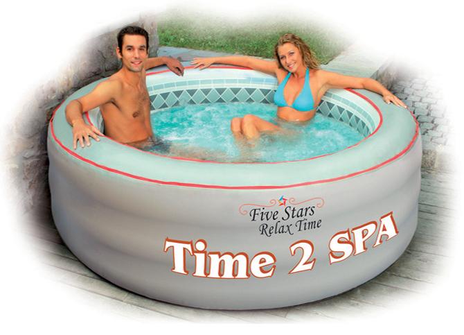 Vasca idromassaggio gonfiabile Time 2 Spa