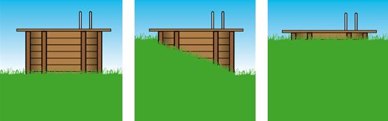 Installazione Piscina in legno NaturalWood URBAN