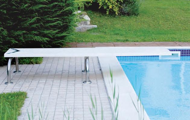 Trampolino Rana piscina