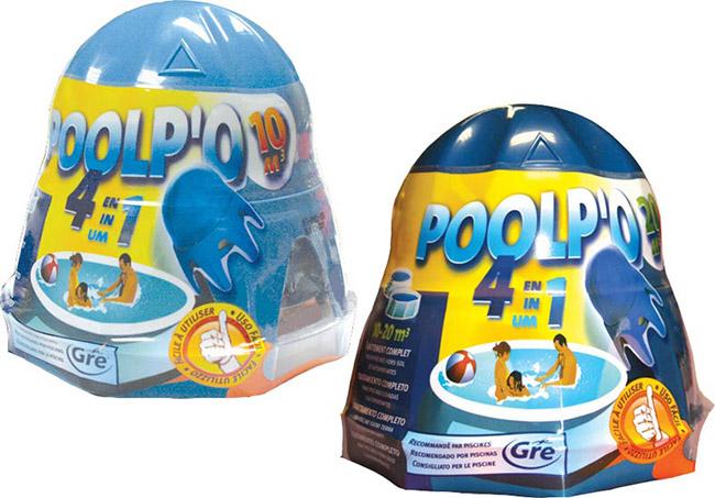 Trattamento chimico 4 in 1 per piscina POOLP'O fino a 20 m³