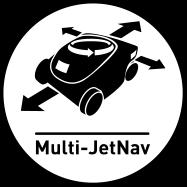 Sistema di navigazione Multi-JetNav per Robot piscina PENTAIR BlueStorm