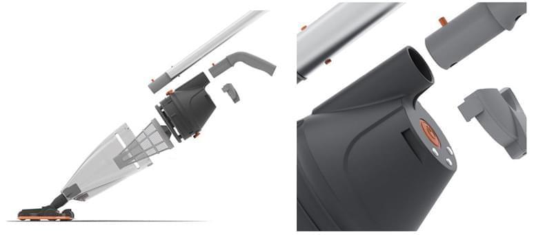 Aspiratore elettrico per pulizia Vektro Pro